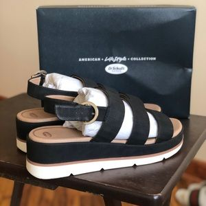 Dr. Scholl's One and Only, Black Sandals SZ 10